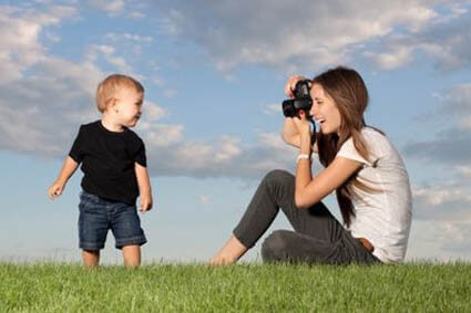 You've just taken a photo of your child. Now what?