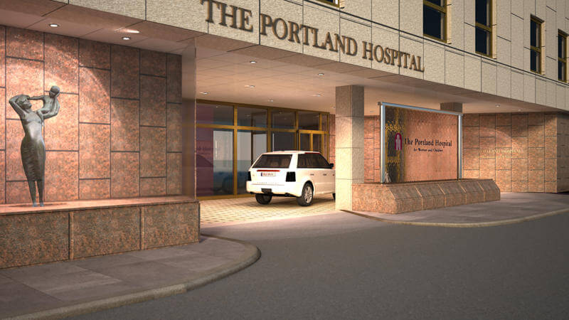 The Portland Hospital in central London