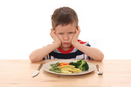 Your child is refusing to eat their dinner. What do you do?