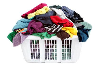 You have a pile of washing to do, and the house is a mess. What do you do?