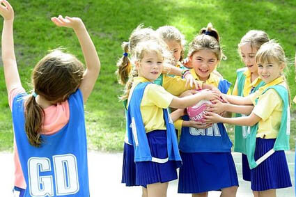 Your 8 year old tells you she wants to quit the netball team. How do you respond?