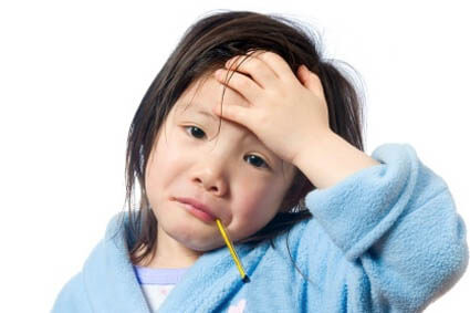 You're just about to leave for work when your child starts complaining of a sore throat. What do you do?