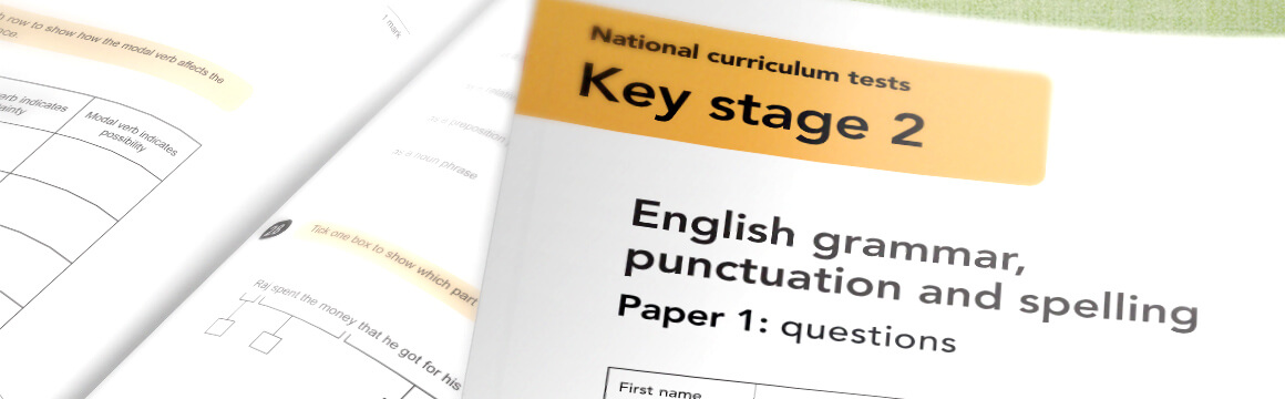 Can you pass an English grammar, punctuation and spelling test aimed at 11 year-olds?