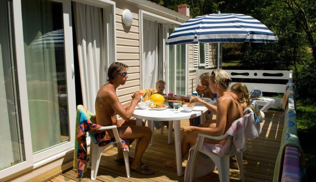 Nudists life at home