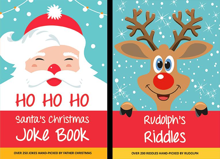 Santa's Christmas Joke Book & Rudolph's Riddles